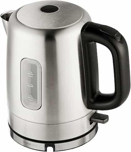 AmazonBasics Electric Kettle boiling pot