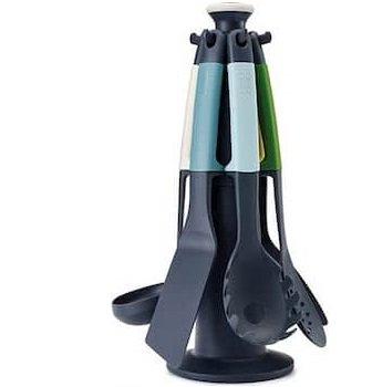 Nylon Utensil Set for stainless steel cookware