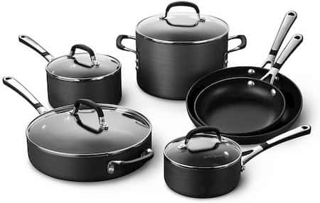 Calphalon Simply Cookware Set for large family