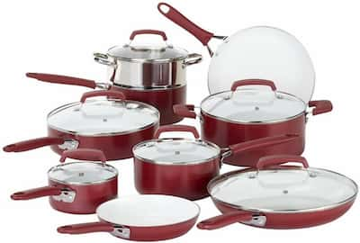WearEver Nonstick Cookware Set for large family