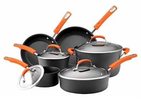 Rachael Ray Brights Hard Anodized dishwasher safe non-stick cookware