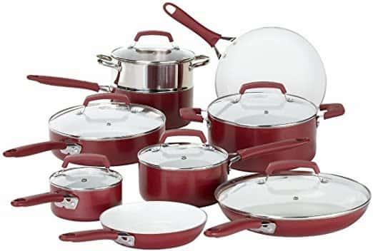 WearEver Ceramic Cadmium Free Cookware Set